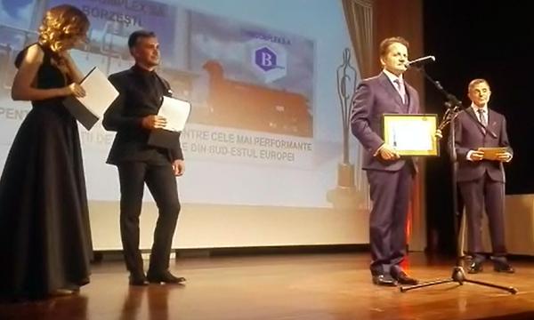 Stefan Vuza la Gala Premiilor Capital